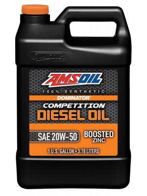AMSOIL DOMINATOR 20W-50 Competition Diesel Oil (GALLON)