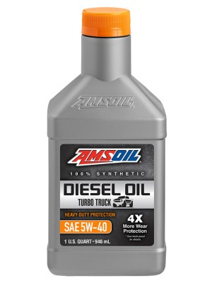 AMSOIL 5W-40 Heavy-Duty Synthetic Diesel Oil (QT)