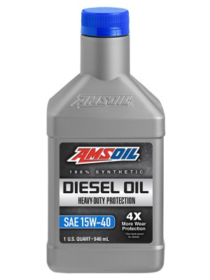 AMSOIL 15W40 Heavy Duty Diesel Engine Oil (QT)
