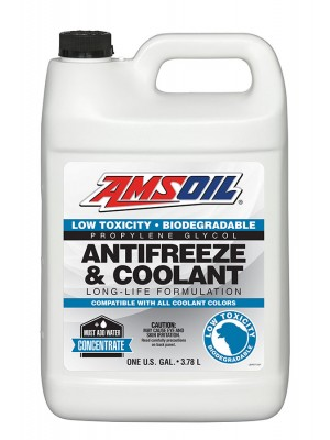 AMSOIL Low Toxicity Antifreeze and Engine Coolant (GALLON)