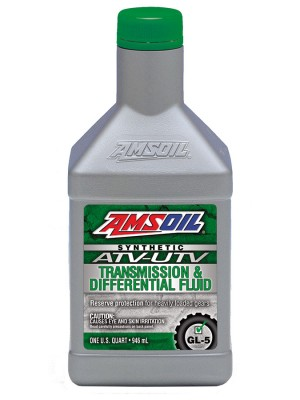 AMSOIL Synthetic ATV/UTV Transmission & Differential Fluid (QT)