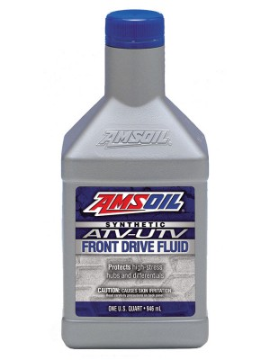 AMSOIL Synthetic ATV/UTV Front Drive Fluid (QT)