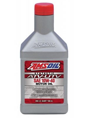 AMSOIL 10W-40 Synthetic ATV/UTV Engine Oil (QT)