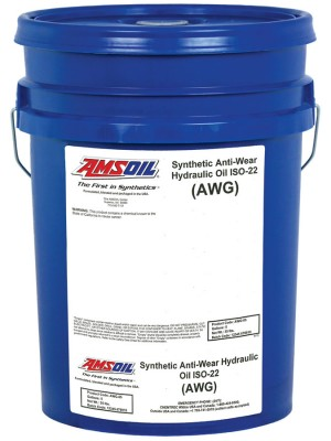 AMSOIL Synthetic Anti-Wear Hydraulic Oil ISO 22 (5 GALLON)
