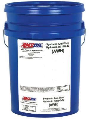 AMSOIL Synthetic Anti-Wear Hydraulic Oil ISO 32 (5 GALLON)