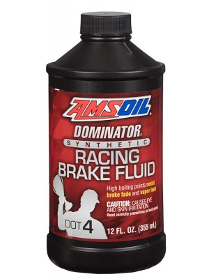 AMSOIL DOMINATOR Dot 4 Synthetic Racing Brake Fluid (355ml)