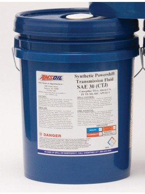 AMSOIL Synthetic Powershift Transmission Fluid SAE 30 (5 GALLON)