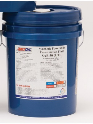 AMSOIL Synthetic Powershift Transmission Fluid SAE 50 (5 GALLON)
