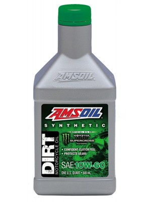 AMSOIL 10W-60 Synthetic Dirt Bike Oil (QT)