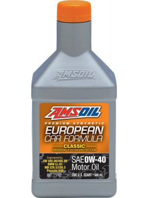 AMSOIL European Car Formula 0W-40 Classic ESP Synthetic Motor Oil (QT)