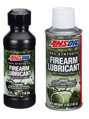 AMSOIL 100% Synthetic Firearm Lubricant and Protectant (4oz. bottle)