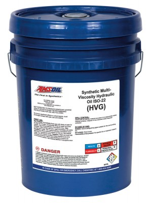 AMSOIL Synthetic Multi-Viscosity Hydraulic Oil, ISO 22 (5 GALLON)