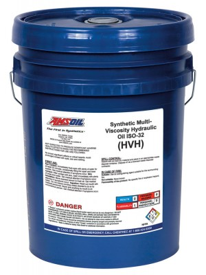 AMSOIL Synthetic Multi-Viscosity Hydraulic Oil, ISO 32 (5 GALLON)