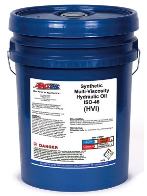 AMSOIL Synthetic Multi-Viscosity Hydraulic Oil, ISO 46 (5 GALLON)