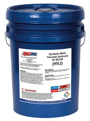 AMSOIL Synthetic Multi-Viscosity Hydraulic Oil, ISO 68 (5 GALLON)