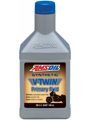AMSOIL Synthetic V-Twin Primary Fluid (QT)