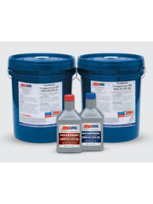 AMSOIL Synthetic Compressor Oil – ISO 32, SAE 10W (5 GALLON)