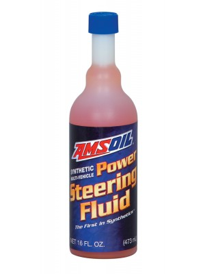 AMSOIL Multi-Vehicle Synthetic Power Steering Fluid (473ml)