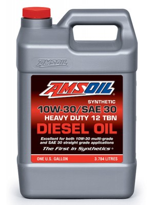 AMSOIL 10W-30/SAE30 Synthetic Heavy Duty Diesel Oil (GALLON)