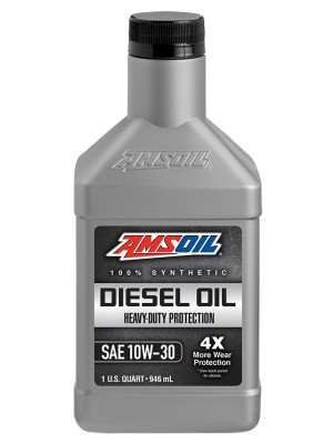 AMSOIL Heavy-Duty Synthetic Diesel Oil 10W-30 (QT)
