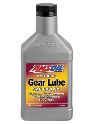 AMSOIL Synthetic 80W-90 Gear Lube (QT)