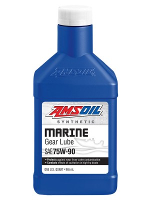 AMSOIL Synthetic Marine Gearlube 75W-90 (QT)