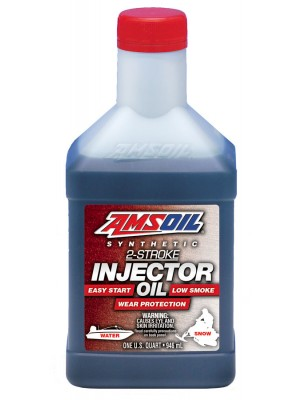 AMSOIL Synthetic 2-Stroke Injector Oil (QT)