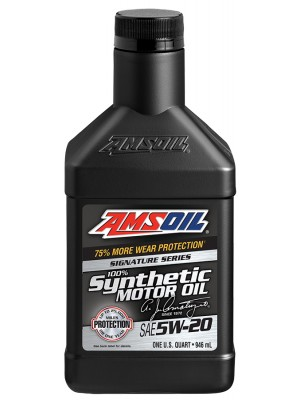 AMSOIL Signature Series 5W-20 Synthetic Motor Oil (QT)