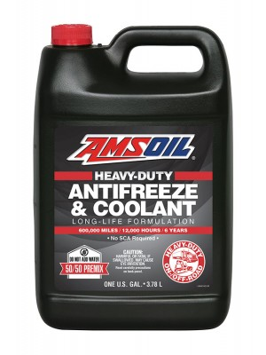 AMSOIL Heavy Duty Antifreeze & Coolant (GALLON)