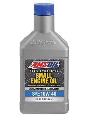 AMSOIL 10W-40 Synthetic Small Engine Oil (QT)