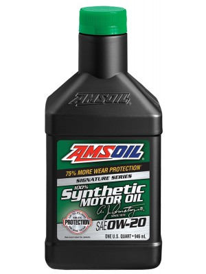 AMSOIL Signature Series 0W-20 Synthetic Motor Oil (QT)
