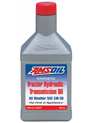 AMSOIL Synthetic Tractor Hydraulic/Transmission Oil SAE 5W-30 (5 GALLON)