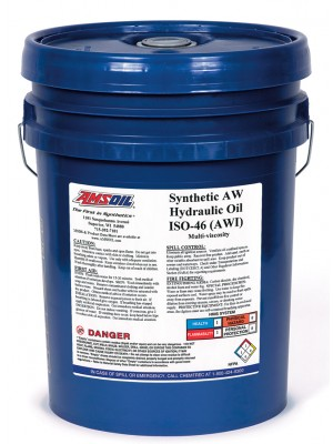 AMSOIL Synthetic Anti-Wear Hydraulic Oil ISO 46 (5 GALLON)