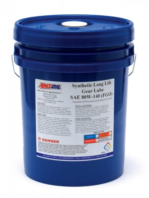 AMSOIL 80W-140 Long Life Synthetic Gear Lube (5 GALLON)