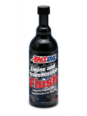 AMSOIL Engine and Transmission Flush (16oz. BOTTLE)