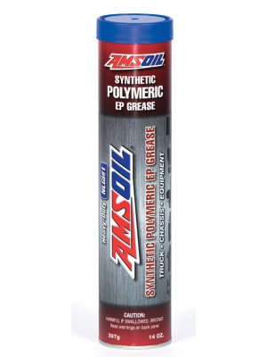 AMSOIL Synthetic Polymeric Truck, Chassis and Equipment Grease NGLI#1 (14oz. cartridge)