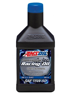 AMSOIL DOMINATOR® 15W-50 Racing Oil (GALLON)