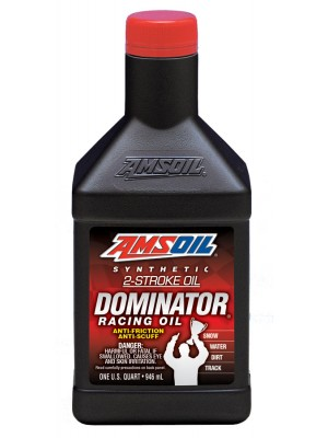 AMSOIL DOMINATOR® Synthetic 2-Stroke Racing Oil (QT)